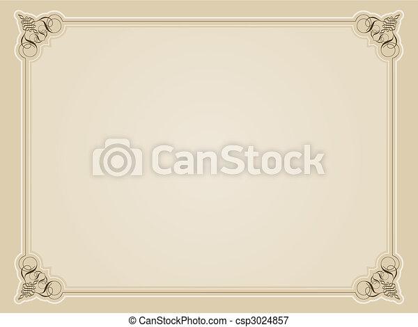 dekoratív határ - csp3024857