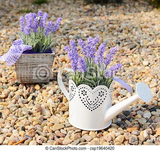 Dekoration lavendel altes metall lavendel dekoration - Dekoration lavendel ...