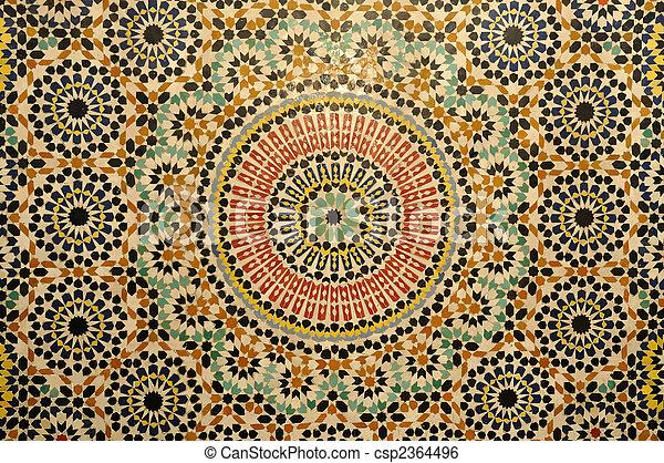 Dekoration marokko orientalische mosaik - Dekoration mosaik ...