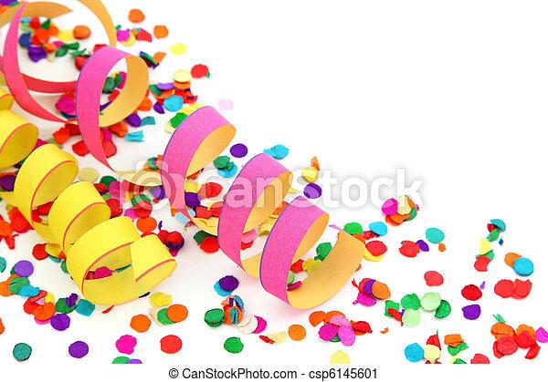 dekoration, party - csp6145601