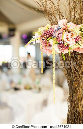 Dekoration Tisch.Dekoration Tisch Blume Wedding