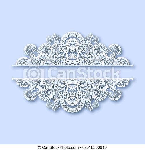 dekoration, utsirad, jul, hälsningskort - csp18560910