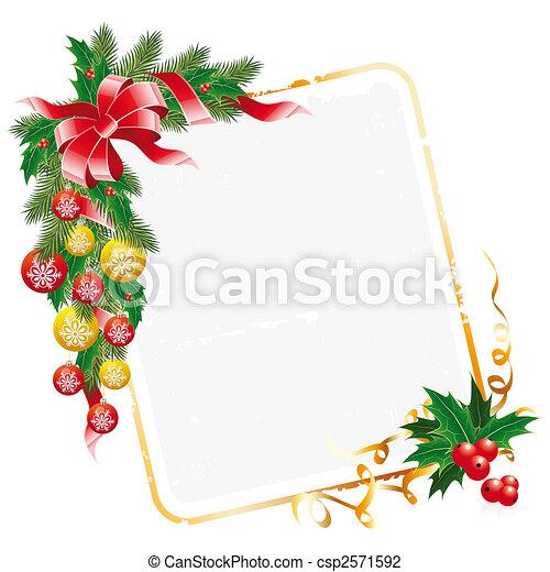 Dekoration Weihnachten Brief Kugeln Girlande Mistel Tannenbaum