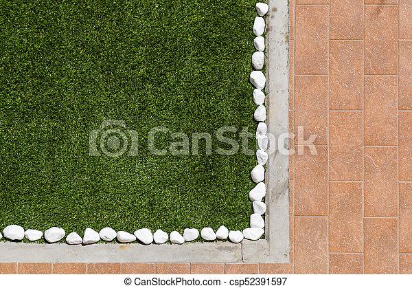 Fußboden Aus Kieselsteinen ~ Abstrakt hintergrund pflaster aus kleinen kieselsteinen in zement