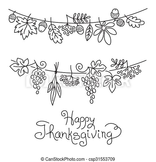 thanksgiving cornucopia coloring pages free