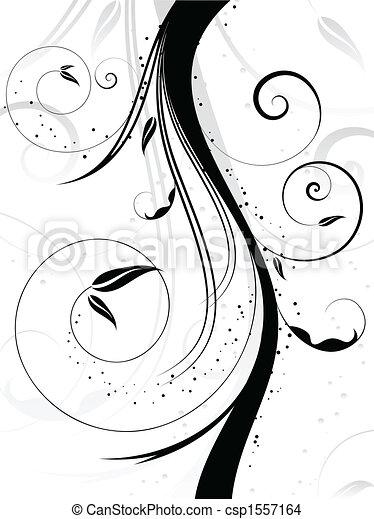 dekorativ, hintergrund - csp1557164