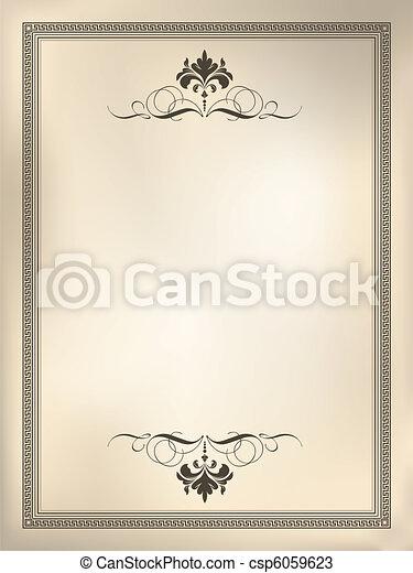 dekorativ, hintergrund - csp6059623