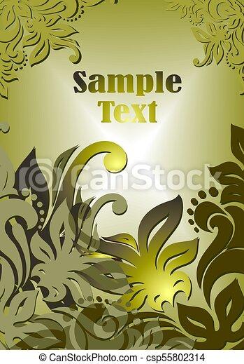 Dekorativer Hintergrund - csp55802314