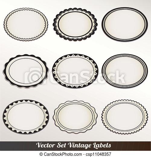Vector-Bil-Set-Ornamental-Welt - csp11048357