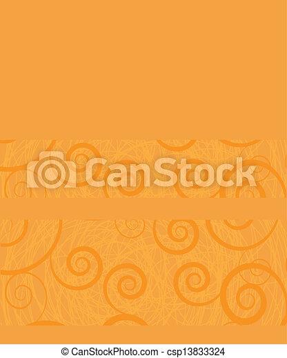 Niedlicher Vektor Hintergrund mit dekorativen Elementen - csp13833324