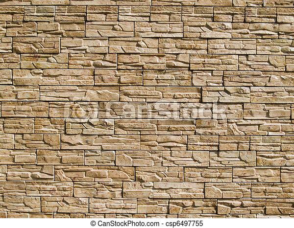Dekorativ, steine, wand. Dekorativ, wand, stein, rauh ...