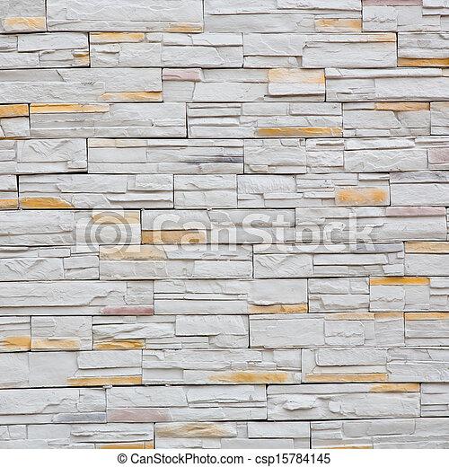 Dekorativ, Steinmauer, Muster, Schiefer, Oberfläche   Csp15784145