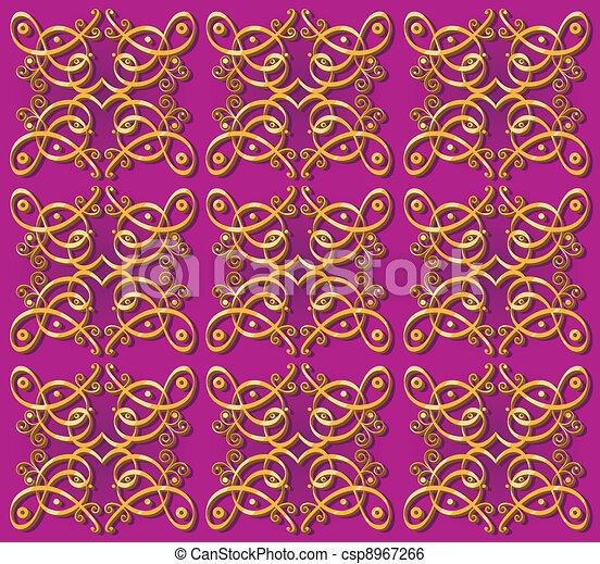 dekorativ tapete orientalische hintergrund csp8967266 - Tapete Orientalisches Muster