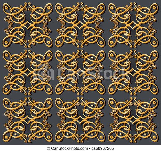 dekorativ tapete orientalische hintergrund dekorativ. Black Bedroom Furniture Sets. Home Design Ideas
