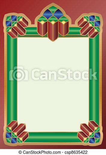Dekorative frame - csp8635422