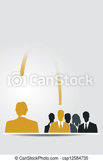 delegar, responsabilidade - csp12584730