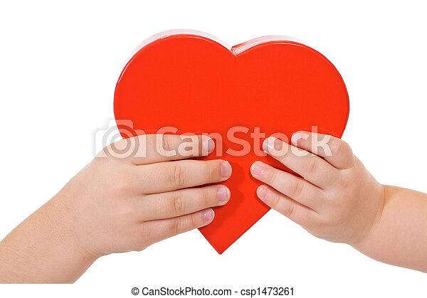 delen, liefde - csp1473261