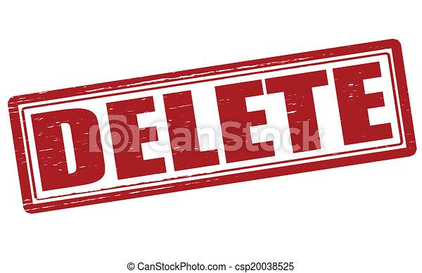 Delete - csp20038525