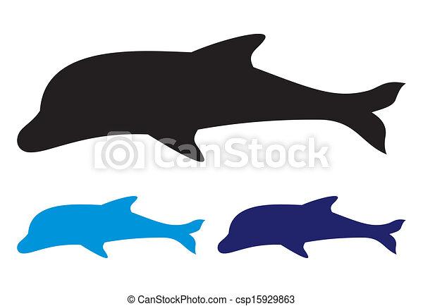 Delfín - csp15929863