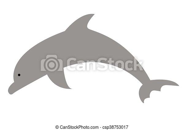 Delfín - csp38753017