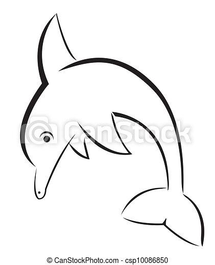 Delfín - csp10086850