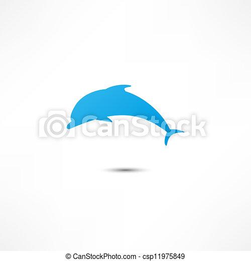Delfín - csp11975849