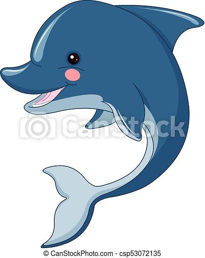 Lindo delfín - csp53072135