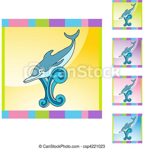 Delfín - csp4221023