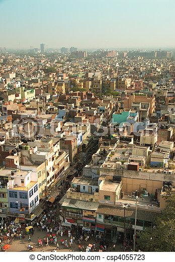 delhi, vieux - csp4055723