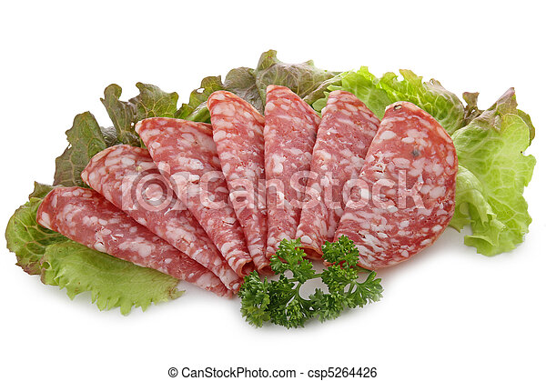 delicatessen, meat - csp5264426