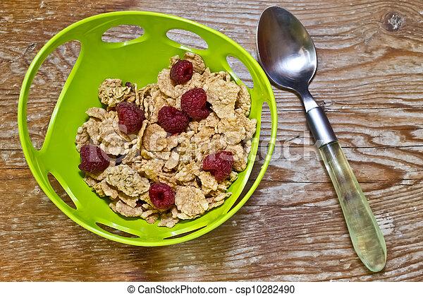 Delicious and healthy wholegrain mu - csp10282490