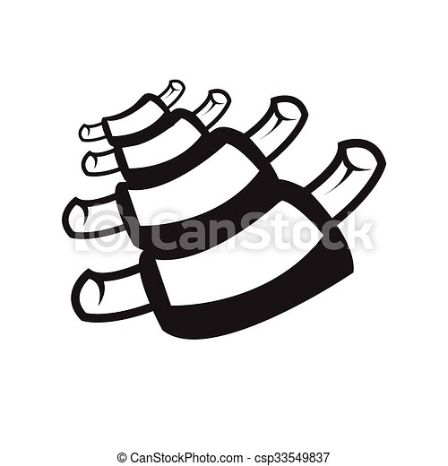 Spareribs Clipart And Stock Illustrations 60 Spareribs Vector Eps