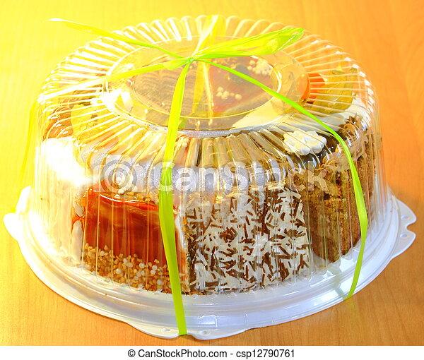 delicious cake - csp12790761