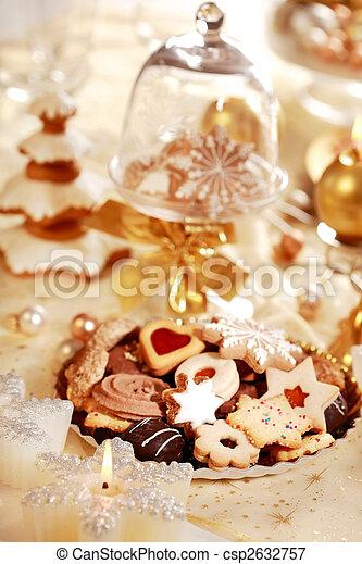 Delicious Christmas cookies - csp2632757