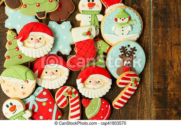 Delicious Christmas Cookies - csp41803570