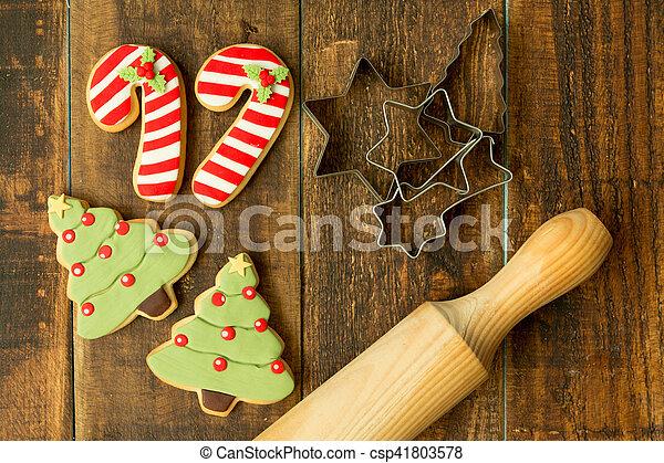 Delicious Christmas Cookies - csp41803578