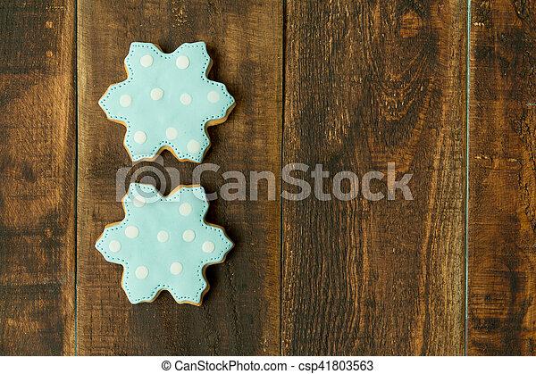 Delicious Christmas Cookies - csp41803563