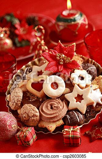 Delicious Christmas cookies - csp2603085