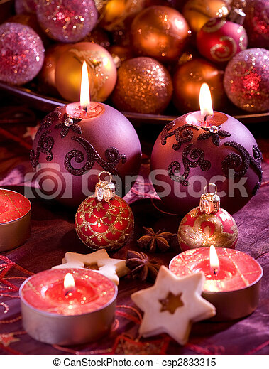 Delicious Christmas cookies - csp2833315