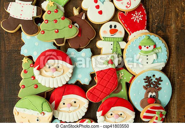Delicious Christmas Cookies - csp41803550