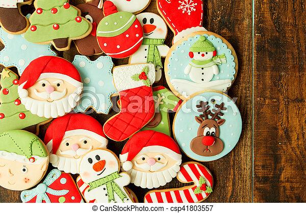 Delicious Christmas Cookies - csp41803557