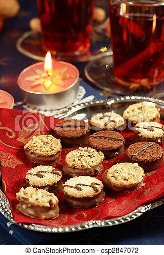 Delicious Christmas cookies - csp2847072