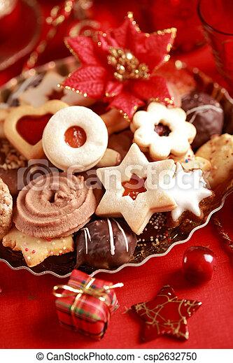 Delicious Christmas cookies - csp2632750