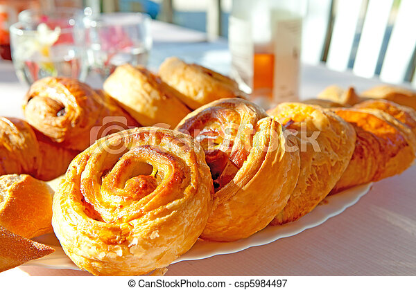 delicious french bread - csp5984497