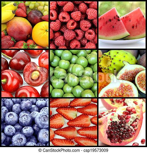 Delicious Fruits - csp19573009