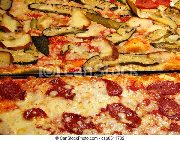 Delicious pizza Italian meal - csp0511702