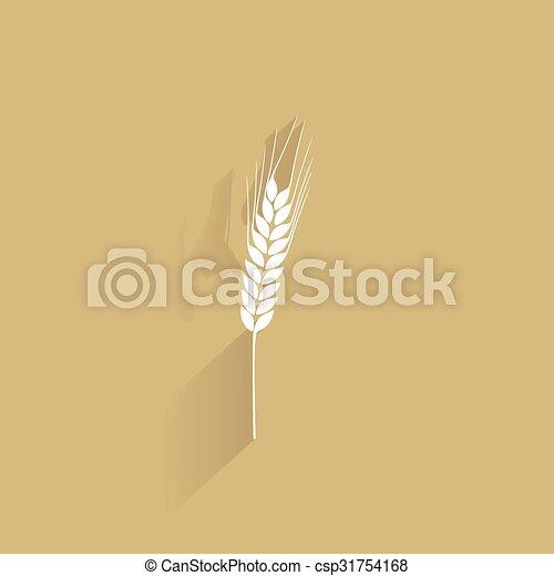 Delicious wheat icon - csp31754168