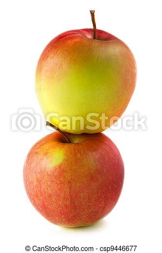 Delightful apples - csp9446677