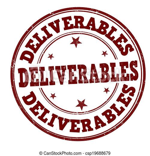 Deliverables stamp - csp19688679