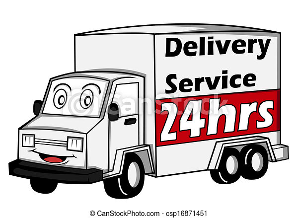 delivery car - csp16871451